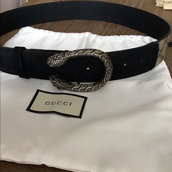 0189f9e2bae Gucci Accessories - Authentic Gucci Dionysus GG Supreme belt